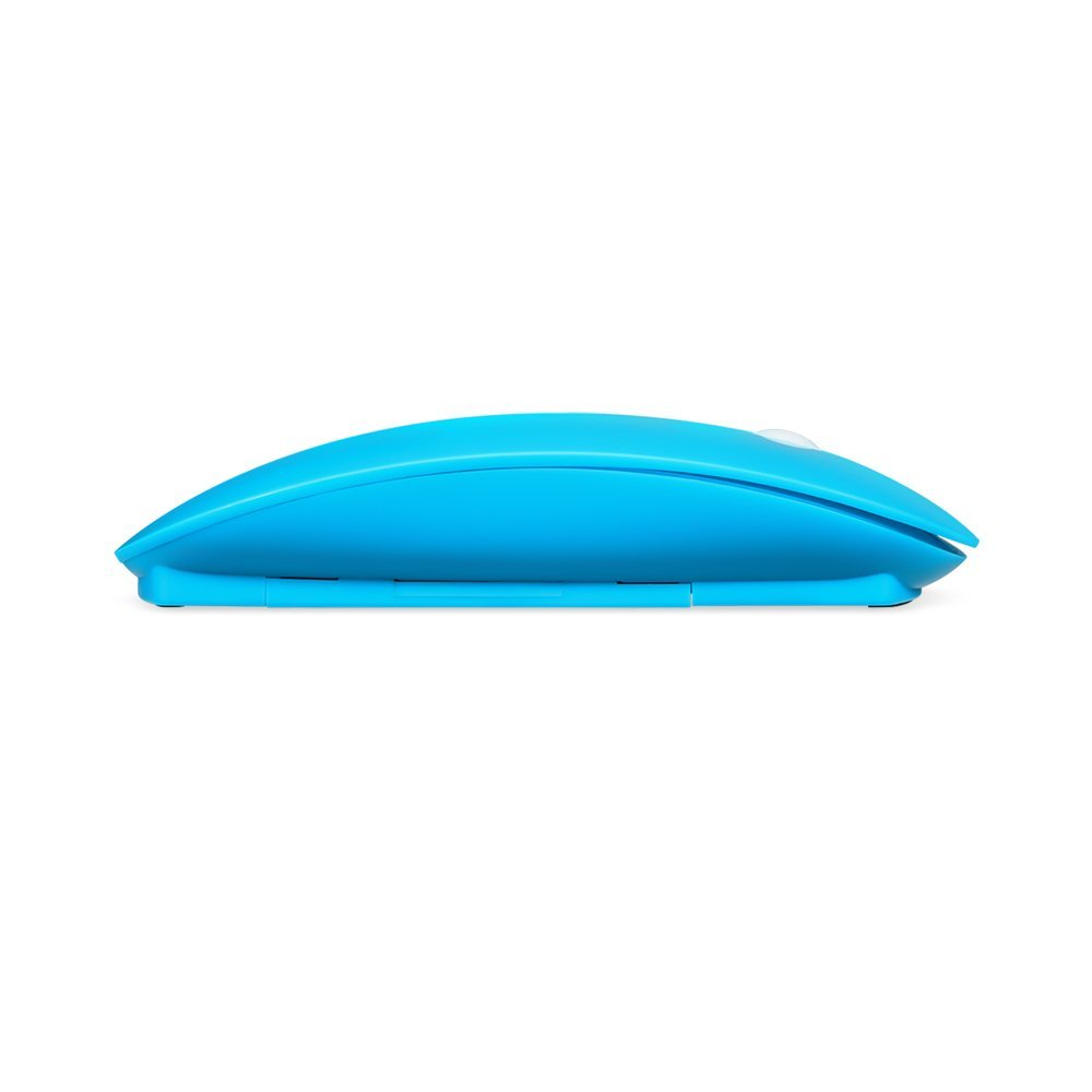 EagleTec M121 2.4GHz Wireless Optical 3-Button Mouse With Adjustable DPI (800, 1200, 1600), And Nano Receiver (Blue)